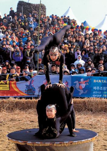 済州(チェジュ)野火祭り(제주들불축제)