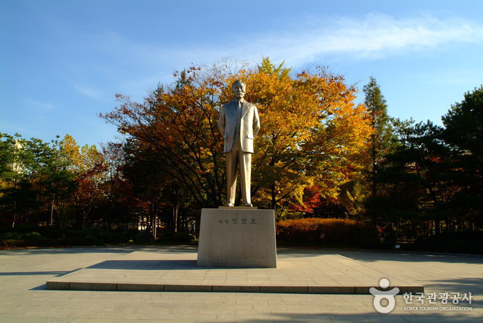 Парк Тосан (도산공원)7