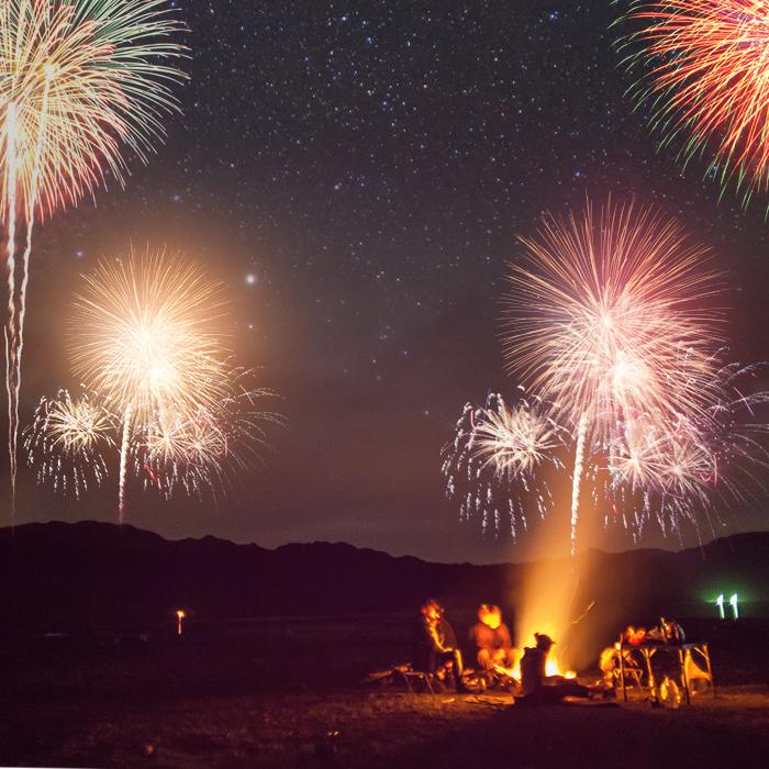 삼포해수욕장 불꽃놀이 및 캠프파이어 2017