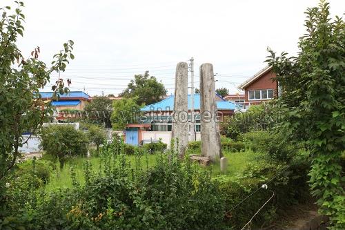 홍성 오관리 당간지주