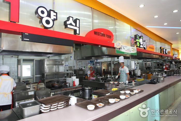 화성휴게소(서울)에서 맛볼 수 있는 돈가스