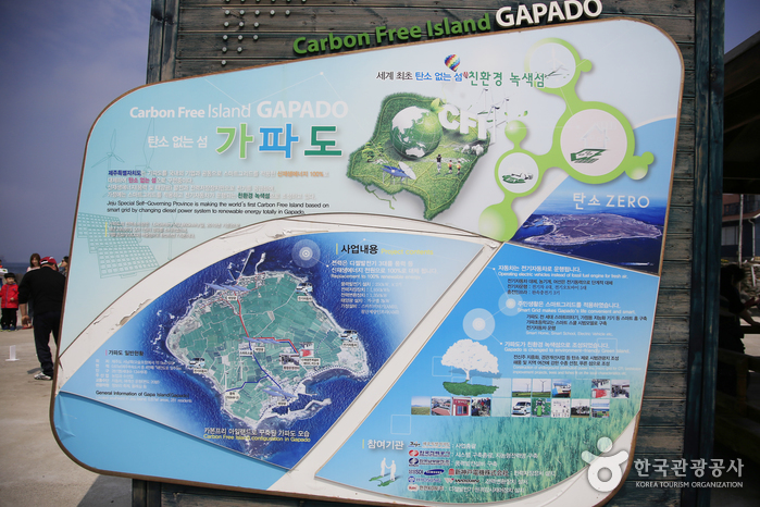 탄소 없는 섬을 구현 중인 가파도