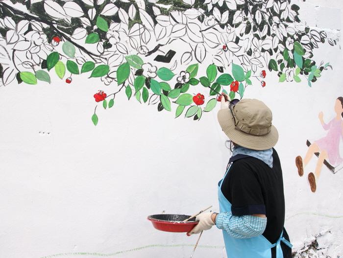 동피랑 벽화 축제 2016