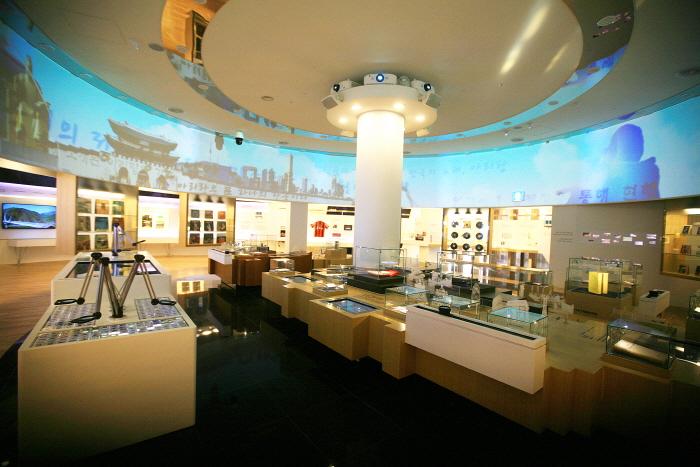 아리랑박물관 내부 전경