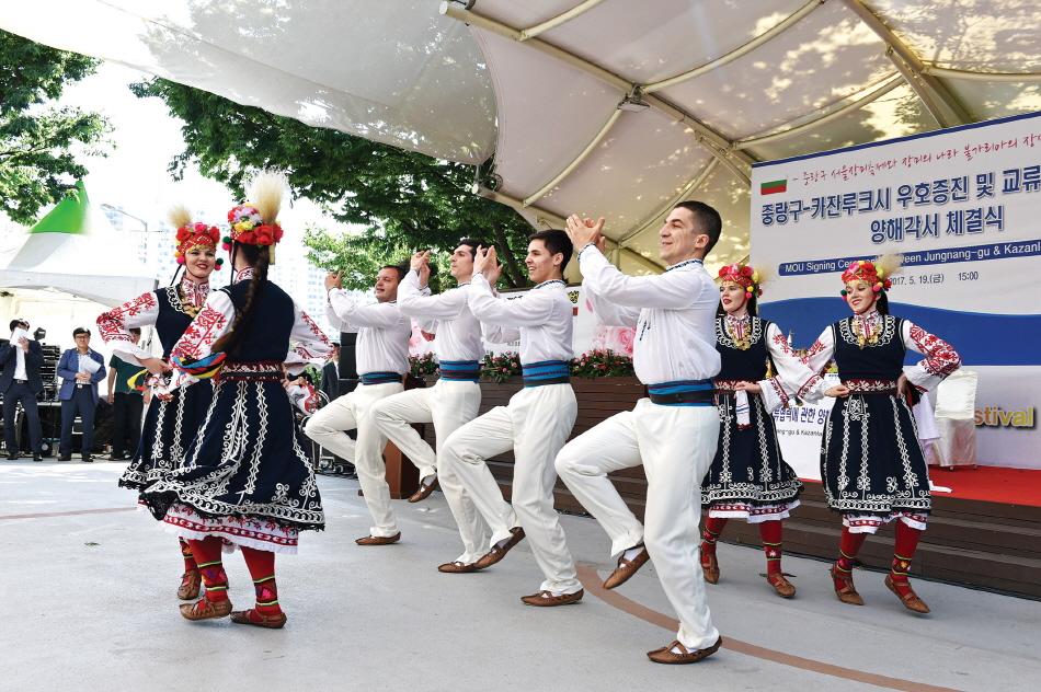 서울장미축제의 공연