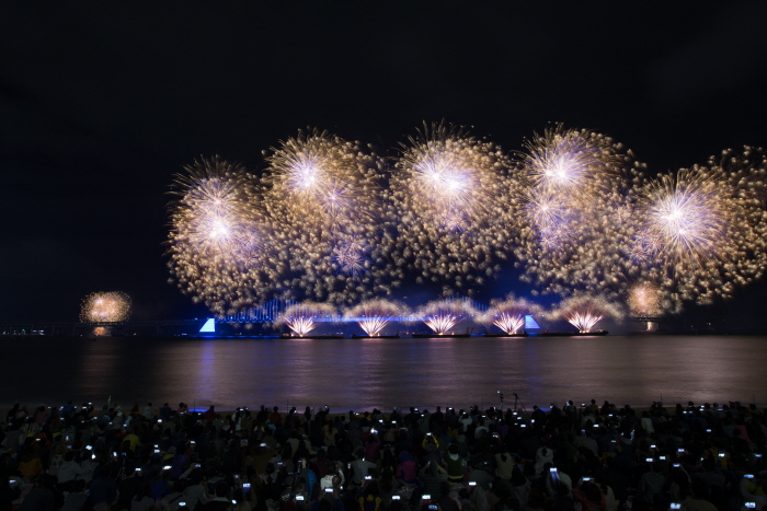 Internationales Feuerwerksfestival Busan (부산 세계불꽃축제)