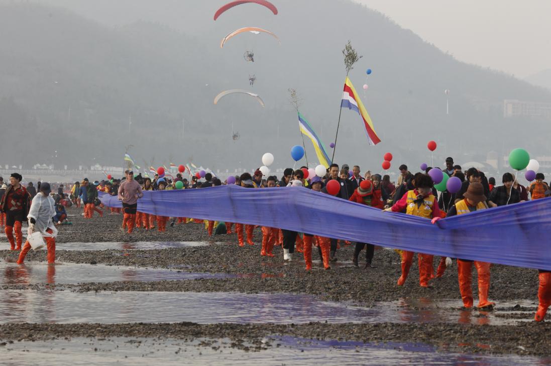 Jindo Miracle Sea Road Festival (진도 신비의바닷길축제)
