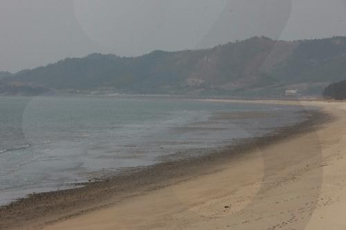 曽島 羽田海水浴場(증도 우전해수욕장)