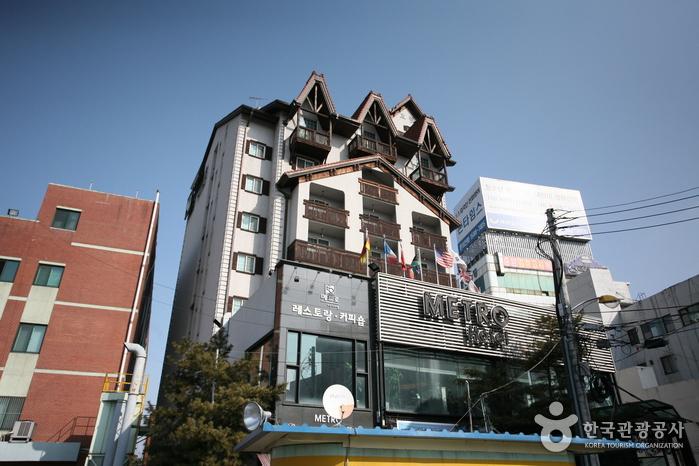 天安メトロ観光ホテル(천안메트로관광호텔)