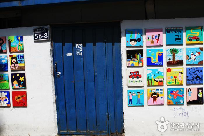 Улица имени музыканта Ким Кван Сока (김광석 길)19