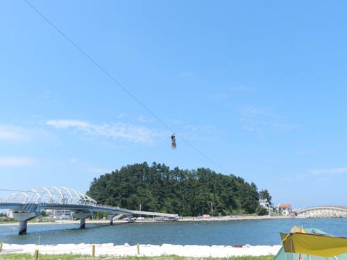Aranabi Zipline (아라나비(스카이 어촌체험))