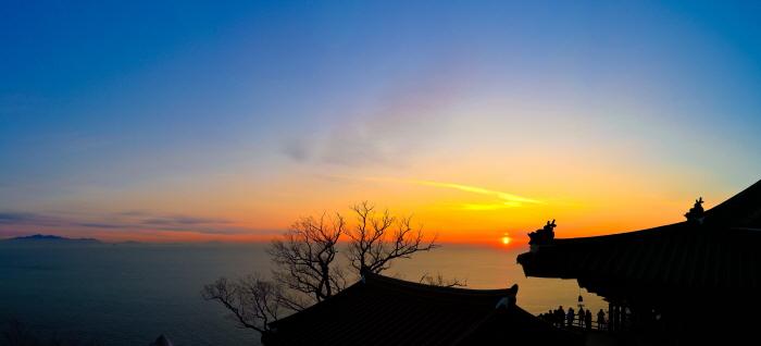 Festival du lever du soleil de Hyangiram à Yeosu 2019 (여수향일암일축제 2019)