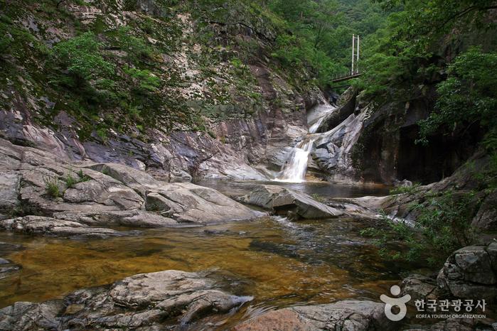 덕구계곡 (경북 동해안 국가지질공원)