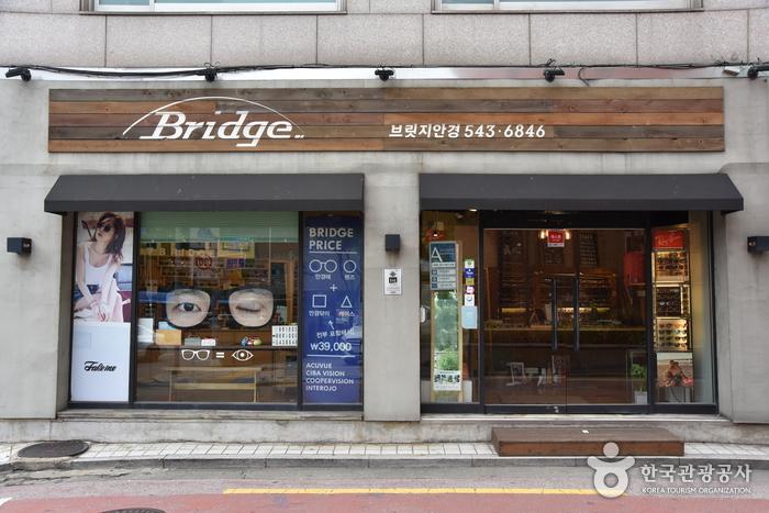 ブリッジ眼鏡[韓国観光品質認証]<br>(브릿지안경[한국관광품질인증/Korea Quality])