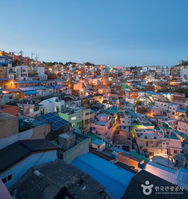 釜山甘川文化村(부산 감천문화마을)