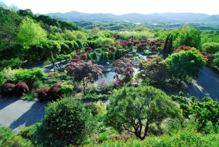 Botanischer Garten Hantaek (한택식물원)