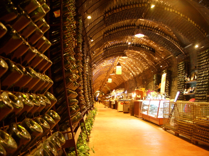 Cheongdo Wine Tunnel (청도 와인터널)