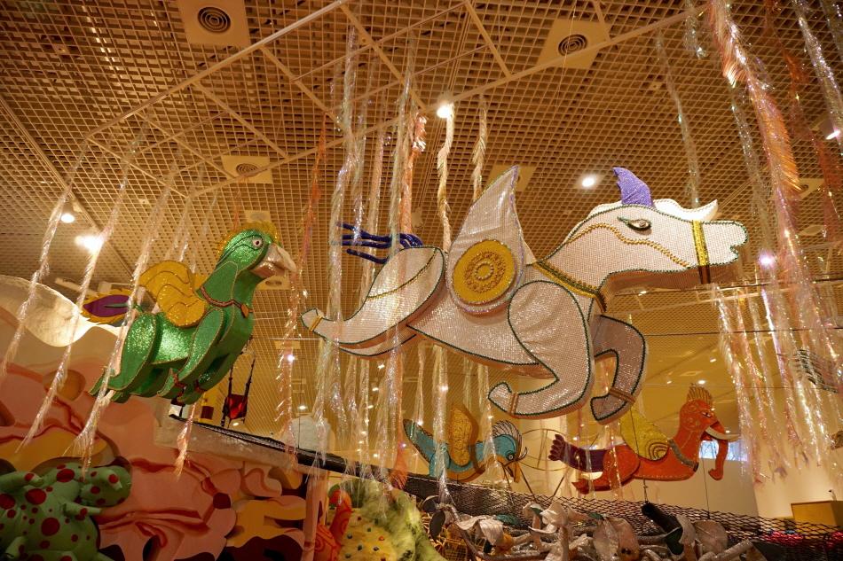 국립아시아문화전당의 어린이문화원에서는 다양한 문화와 예술을 체험하는 놀이 여행이 가능하다.