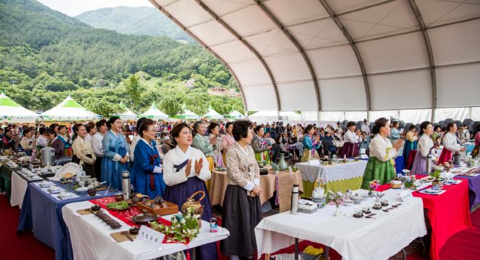 河東野生茶文化節(하동 야생차문화축제)