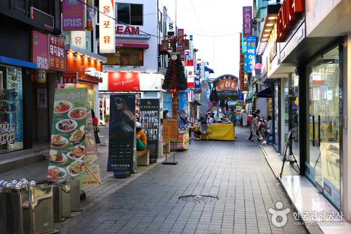 Myeongdong-Straße in Chuncheon (춘천 명동거리)