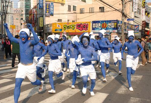 Haeundae Sand Festival (해운대 모래축제)
