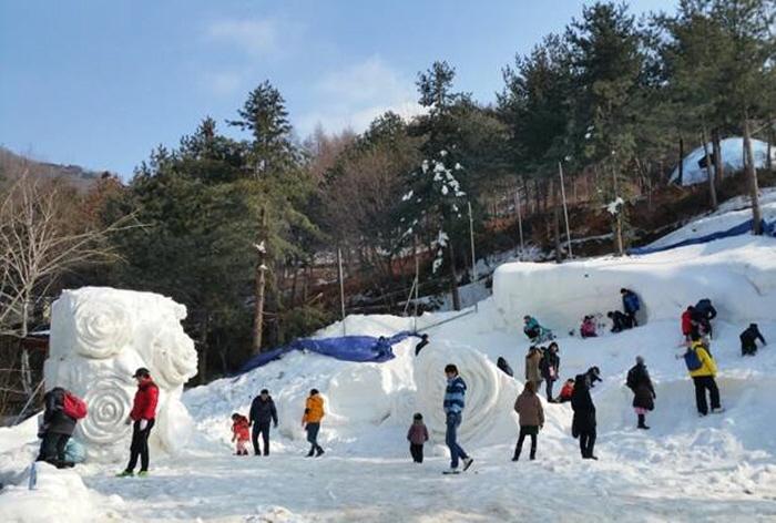 杨州雪花节(양주 눈꽃축제)