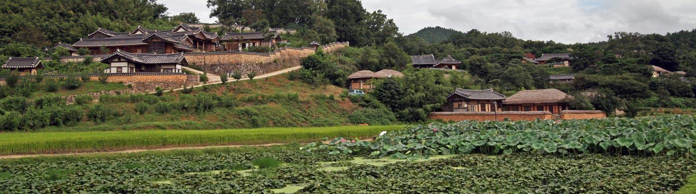 세계문화유산에 이름 올린 양반마을 사진