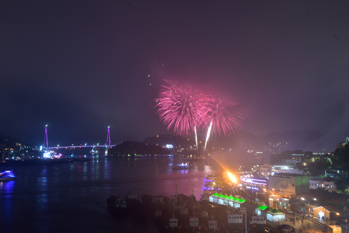 麗水 亀甲船祭り(여수거북선축제)