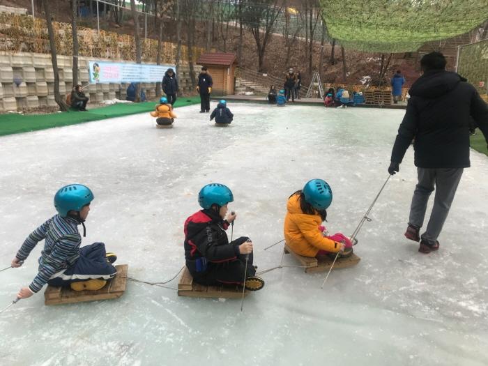楊州雪花祭り(양주 눈꽃축제)