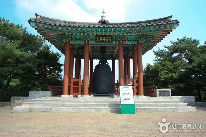 孝園の鐘・西将台(효원의 종・서장대)