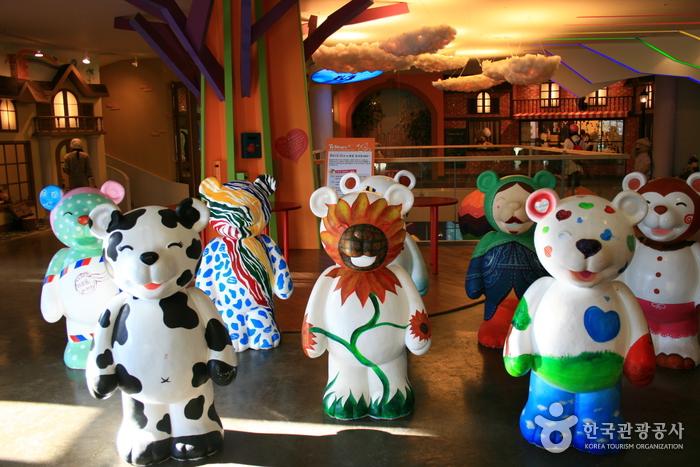 Музей плюшевого мишки на Чечжудо (제주테지움)4