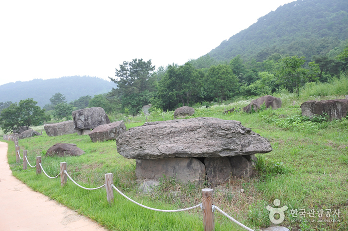 small photo about Gochang, Hwasun, and Ganghwa Dolmen Sites