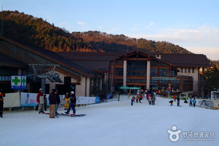 Station de ski de Yongpyeong (용평리조트 스키장)