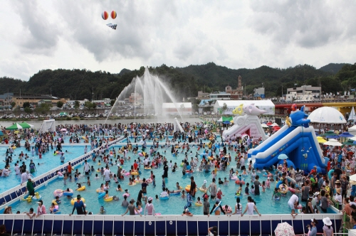 Festival del Agua Jeongnamjin de Jangheung (정남진장흥물축제)10