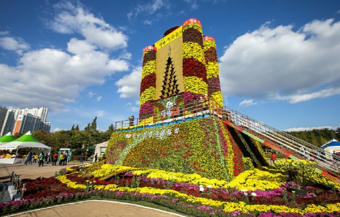 Iksan Ten Million Chrysanthemum Festival (익산천만송이국화축제)