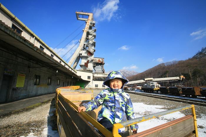 사북탄광문화촌의 인차