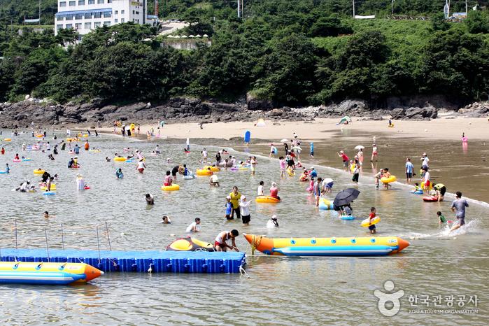 Пляж Мохан (모항해수욕장)