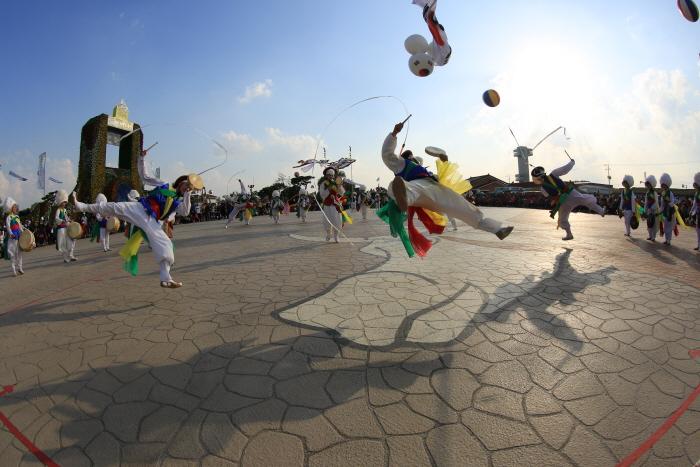 Фестиваль горизонта в Кимчже (김제 지평선축제)6