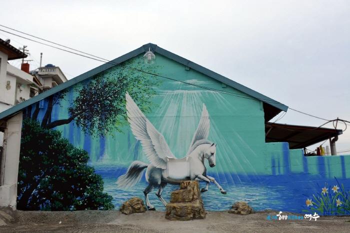 고소동 천사벽화마을  사진2