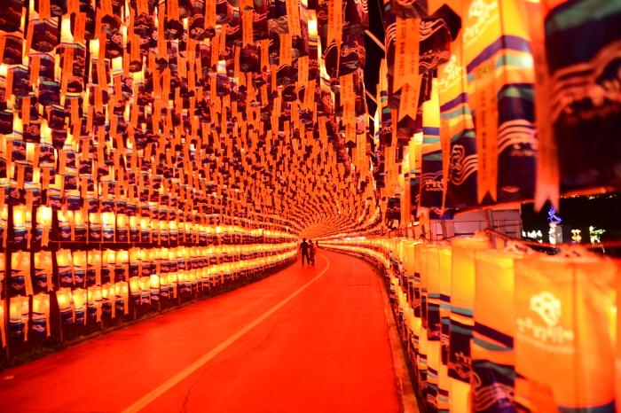 晉州南江流燈節(진주남강유등축제)4