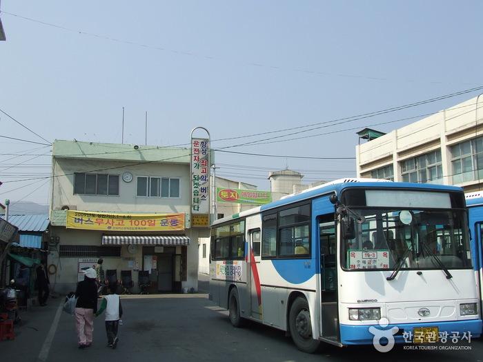 沃川市外バス共用停留所(옥천시외버스공용정류소)