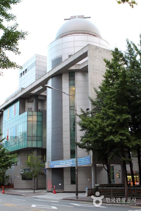 서울영어과학교육센터에 자리한 서울시민천문대