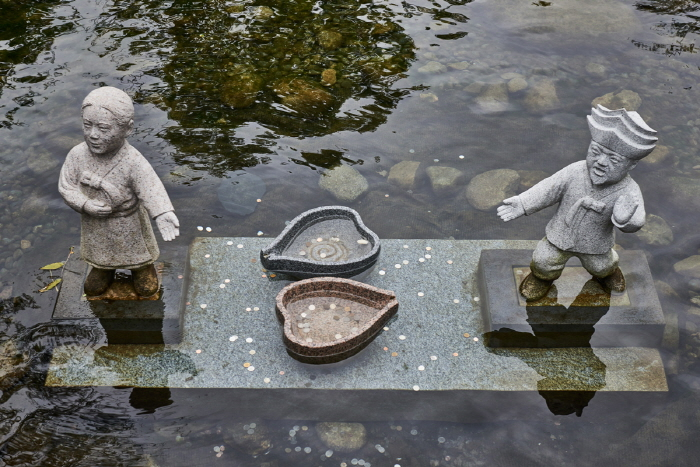 黄池莲塘황지연못