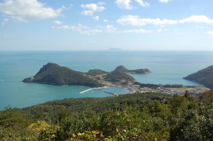 Остров Соандо (소안도)