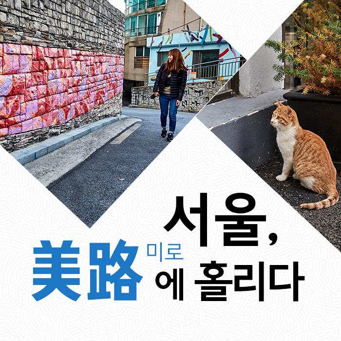 서울, 美路(미로)에 홀리다
