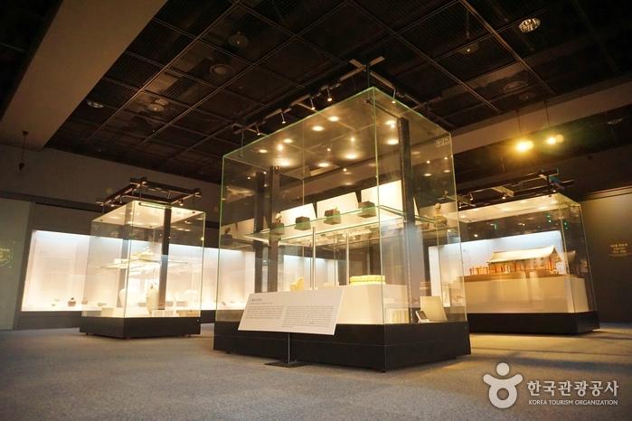 양주시립회암사지박물관 내부 모습