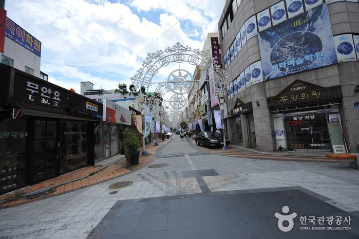 光州芸術通り(광주 예술의 거리)