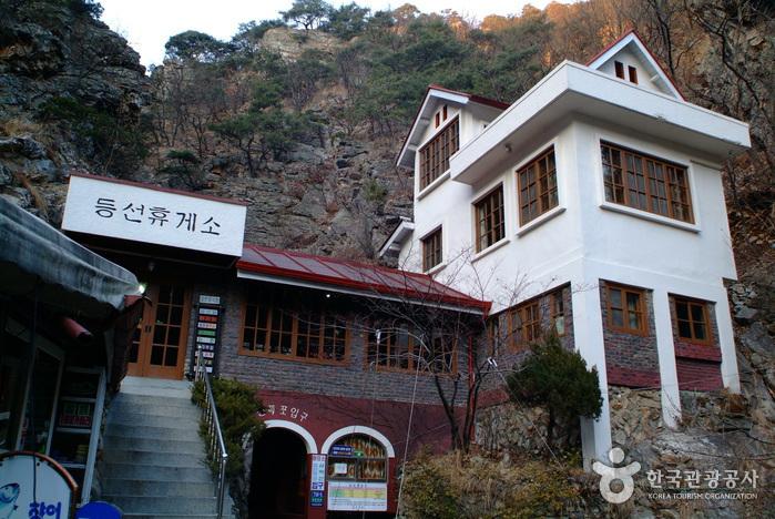 Deungseon-Wasserfall (Berg Samaksan) (등선폭포(삼악산))