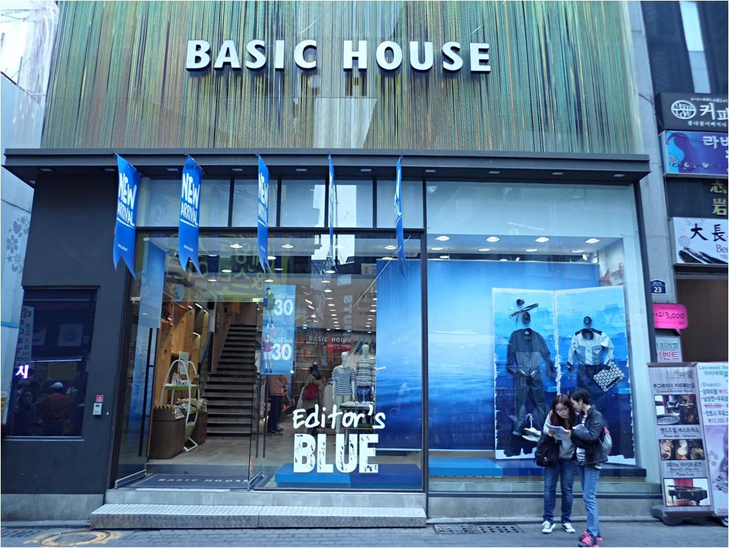 Basic House – Myeong-dong Branch (베이직하우스 (명동점))