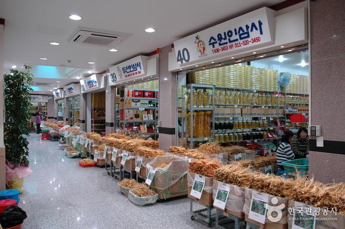 豊基高麗人参市場(풍기인삼시장)